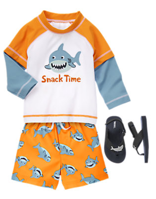 Baby Shark Outfit by Gymboree