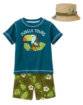 Toucan Tours Outfit by Gymboree