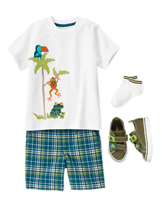 Toddler Boy's Wild Lil' Guy Outfit by Gymboree