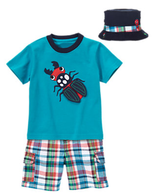 Beetle Buddy Outfit by Gymboree
