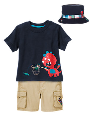Toddler Boy's Monster Games Outfit by Gymboree