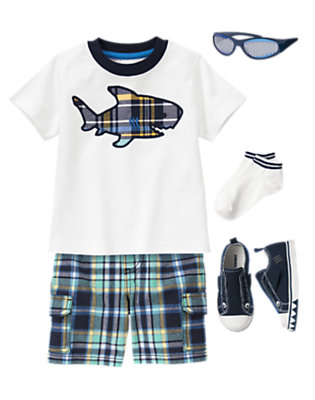 Plaid Harbor Outfit by Gymboree