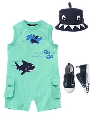 Aquatic Play Day Outfit by Gymboree