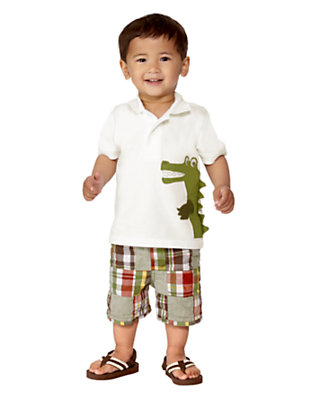 Baby Gator Outfit by Gymboree