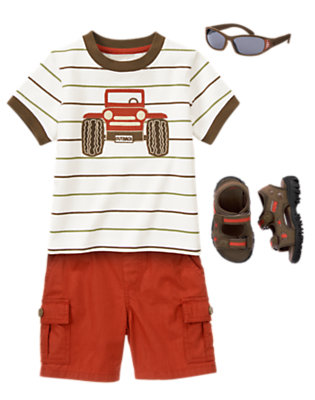 Beep Beep Jeep Outfit by Gymboree