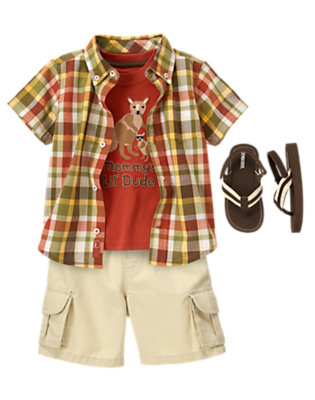 Kangaroo Cool Outfit by Gymboree