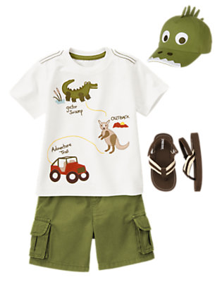Cowabunga Dude! Outfit by Gymboree