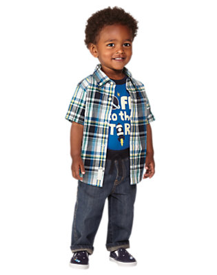 Off To The Stars Outfit by Gymboree