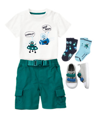 Beep Beep Aliens! Outfit by Gymboree