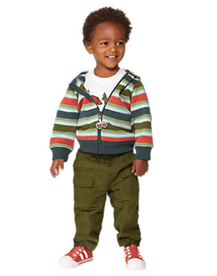 Busy Little Beaver Outfit by Gymboree