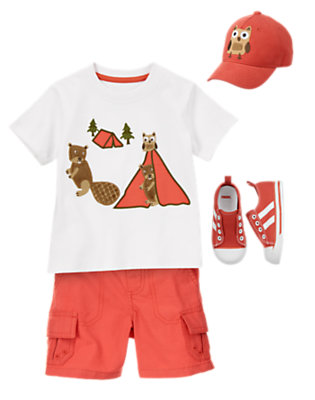 Toddler Boy's Woodland Friends Outfit by Gymboree