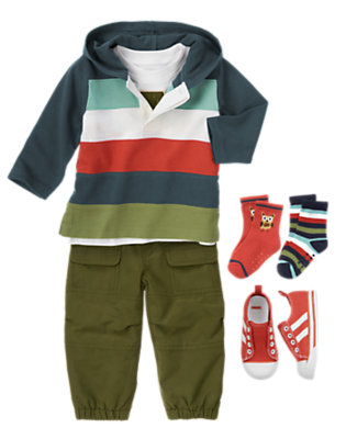 Toddler Boy's Happy Camper Outfit by Gymboree