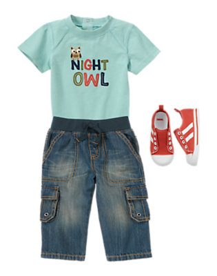 Night Owl Outfit by Gymboree
