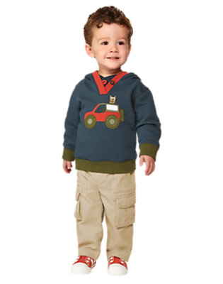 Toddler Boy's More S'Mores Please! Outfit by Gymboree