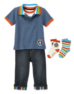Hanging Tough Outfit by Gymboree