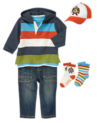 Toddler Boy's Ape Adventure Outfit by Gymboree