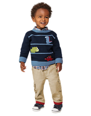 Toddler Boy's Dino Trot Outfit by Gymboree