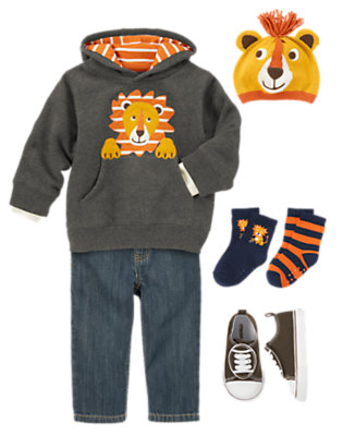 Hut, Hut, Hike! Outfit by Gymboree