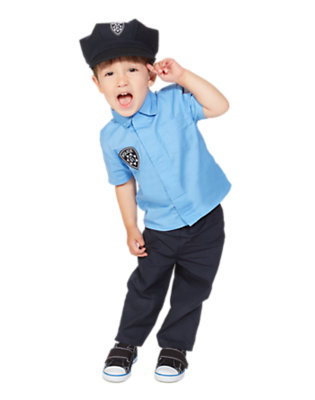 Toddler Boy's Tiny Police Cadet Outfit by Gymboree