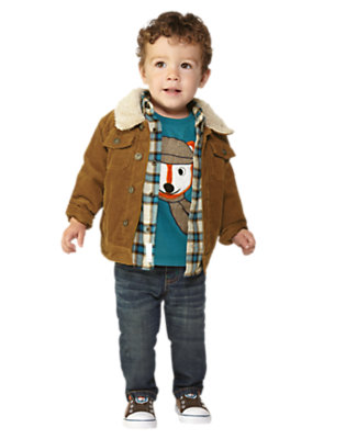 Dapper Fox Outfit by Gymboree