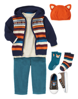 Snug For Fall Outfit by Gymboree
