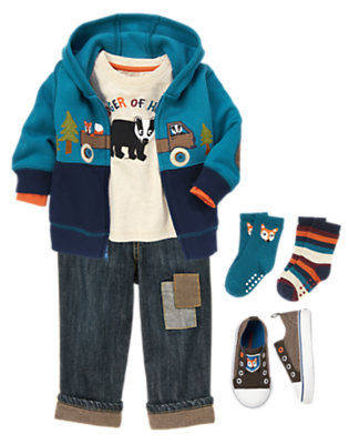 Toddler Boy's Badger Of Honor Outfit by Gymboree