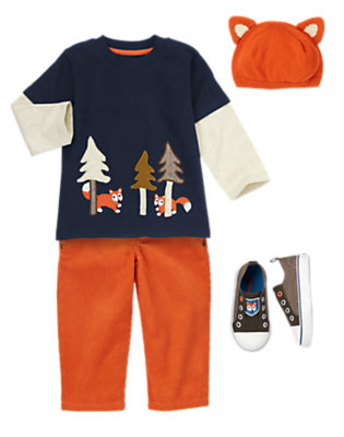 Fox Adventures Outfit by Gymboree