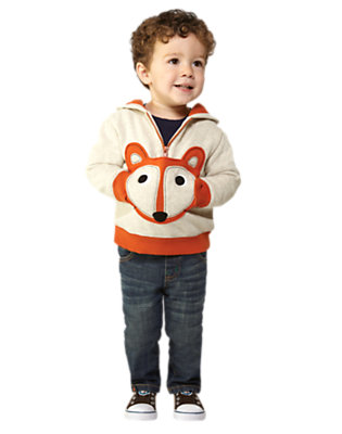 Toddler Boy's Snug Little Fox Outfit by Gymboree