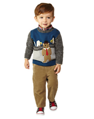 Hello London Outfit by Gymboree