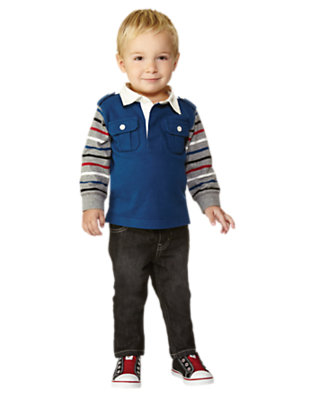 Rugby Champ Outfit by Gymboree