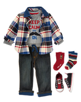 Toddler Boy's London Lad Outfit by Gymboree