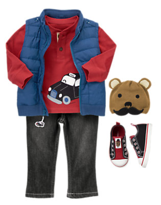 Toddler Boy's Beep Beep Tour Outfit by Gymboree