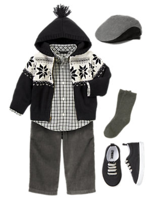 Festive Fair Isle Outfit by Gymboree