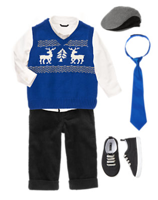 Toddler Boy's Cozy Classic Outfit by Gymboree