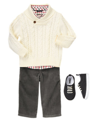 Toddler Boy's Winter Celebrations Outfit by Gymboree