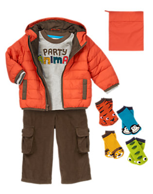 Party Animal Outfit by Gymboree
