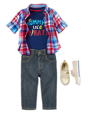 Toddler Boy's Pint-Sized Prep Outfit by Gymboree