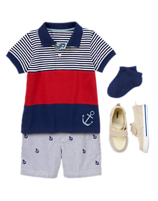 Toddler Boy's Style on Deck Outfit by Gymboree