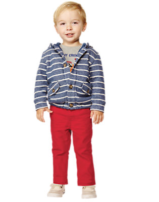 Toddler Boy's Casu-whale Day Outfit by Gymboree