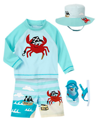 Jolly Crab Captain Outfit by Gymboree