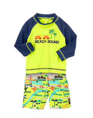 Toddler Boy's Beach or Bust! Outfit by Gymboree