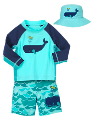Toddler Boy's Mini Mariner Outfit by Gymboree