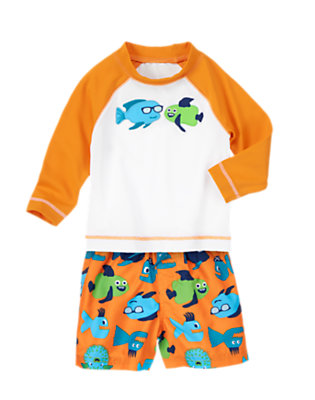 Funny Fish Outfit by Gymboree