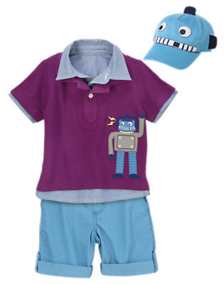 Toddler Boy's Automatic Fun Outfit by Gymboree