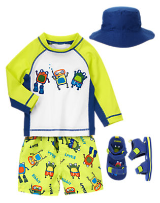 Scuba Frogs Outfit by Gymboree
