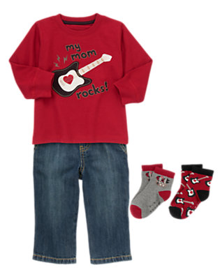 Toddler Boy's Little Love Note Outfit by Gymboree