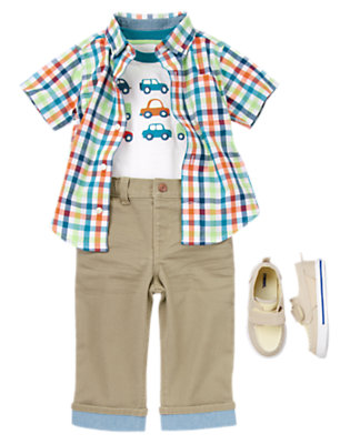 Traffic in Cuteness Outfit by Gymboree