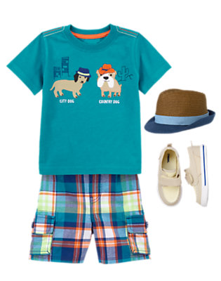 Travel in Style Outfit by Gymboree
