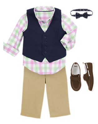 Vest Behavior Outfit by Gymboree