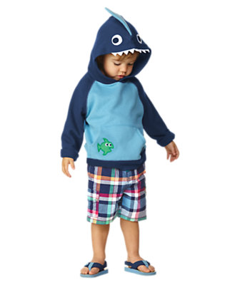 Toddler Boy's Happy Shark Outfit by Gymboree